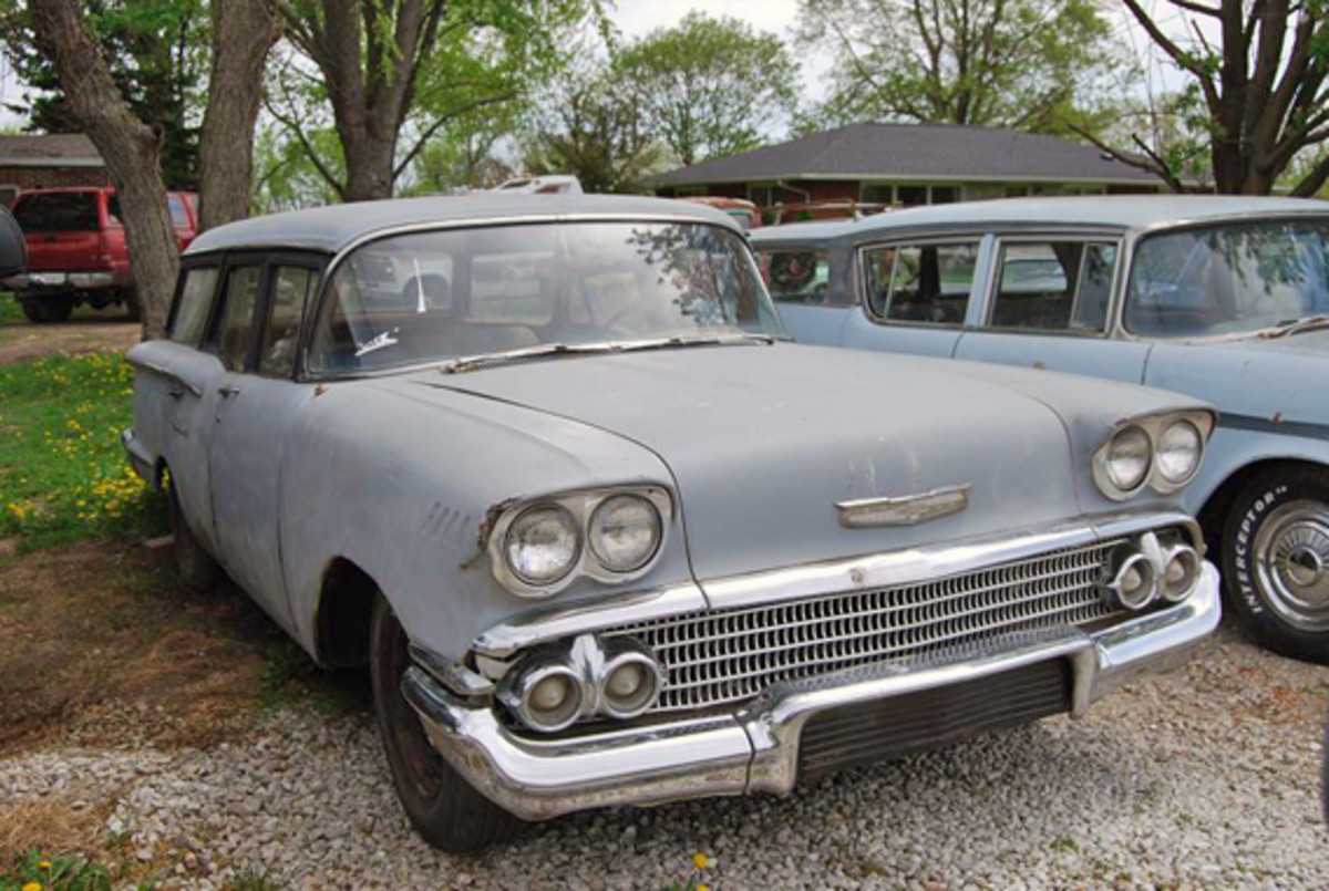 "1958 Chevy wagon was a ""50 yarder"" at best."