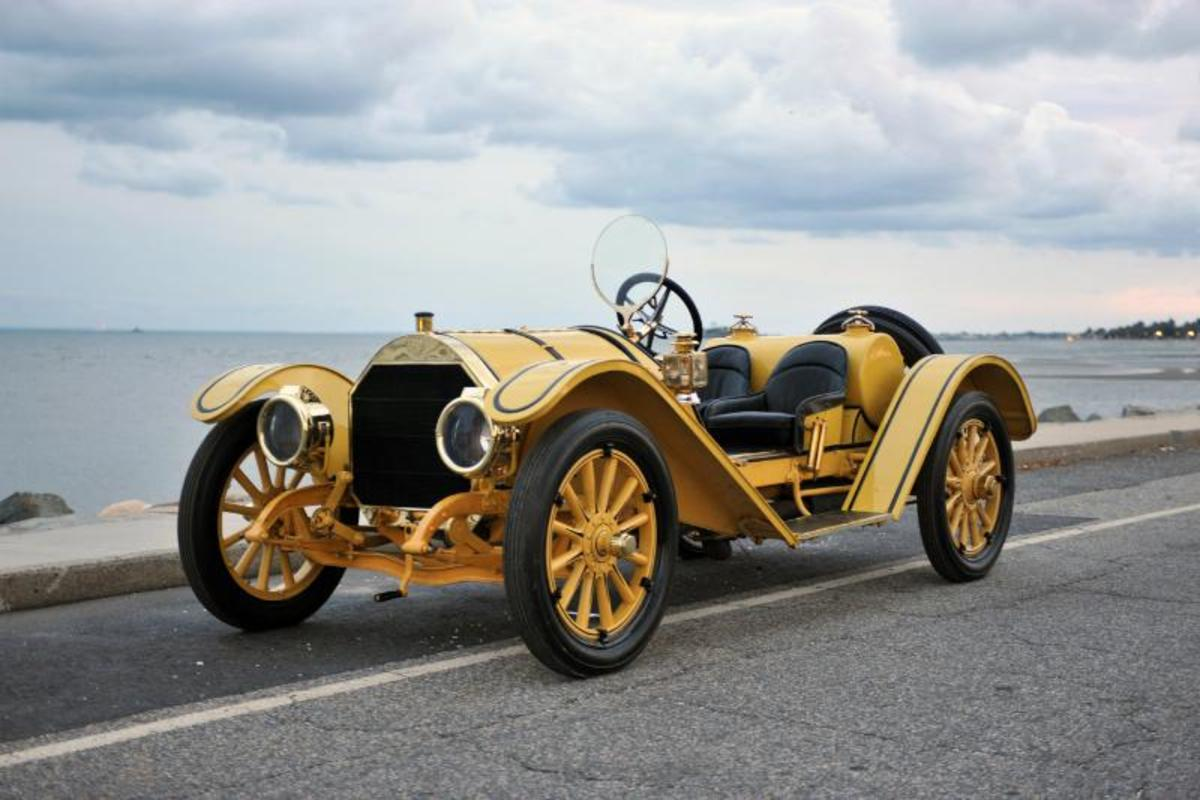 Important 1912 Mercer Raceabout & Thrall Automobile Collection to be Sold by Dragone Auctions. (PRNewsFoto/Dragone Classic Motorcars)