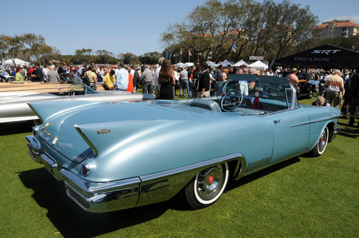 Five 1958 Cadillac Eldorado Biarritzes are believed to have been fitted with water sensors that raised the roof and windows in the event of rain.