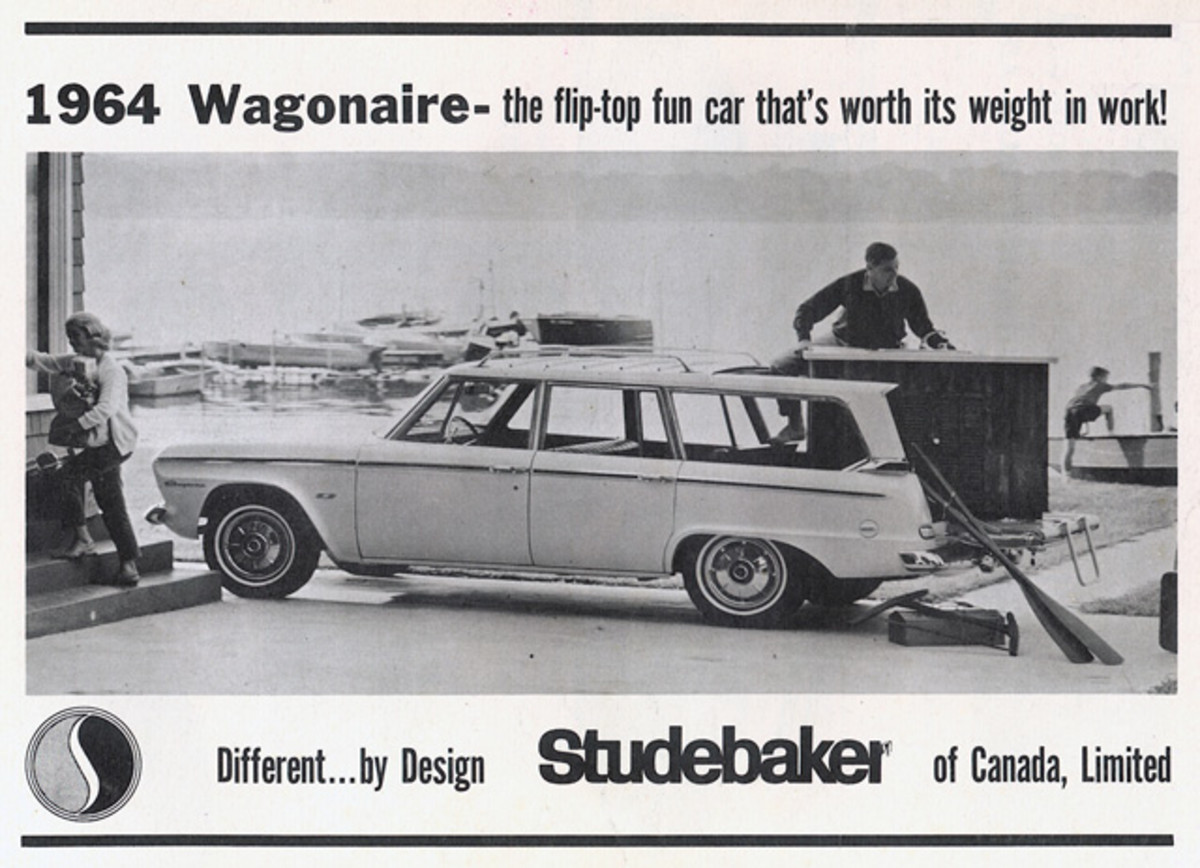 If you wanted plenty of room to haul a Christmas tree or gifts, the Studebaker Wagonaire was a perfect choice.
