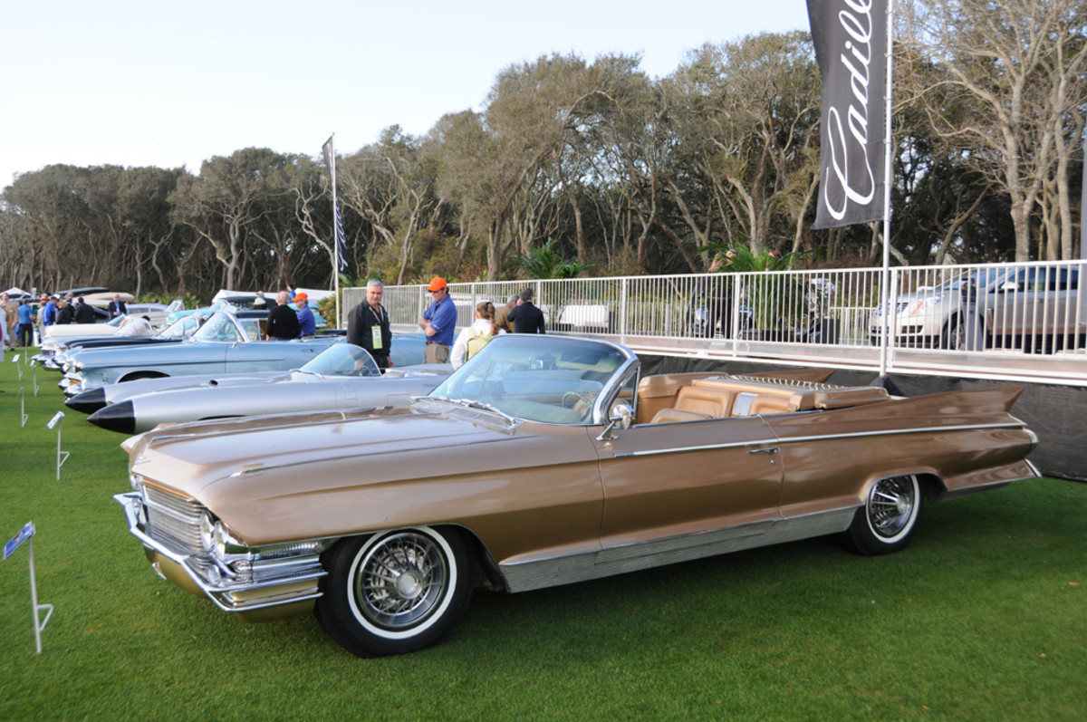 This 1961 Cadillac Eldorado show car features several unique features that separated it from production 1961 Eldorados. GM updated the car for the 1962 show circuit.