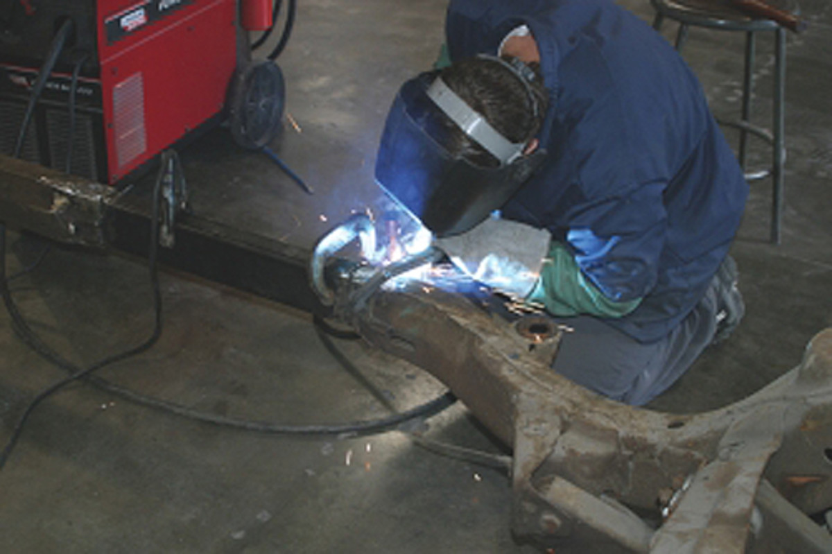 We often have to stretch or shorten frames and drive shafts. This isn't exactly basic bodywork, but definitely involves welding skills.