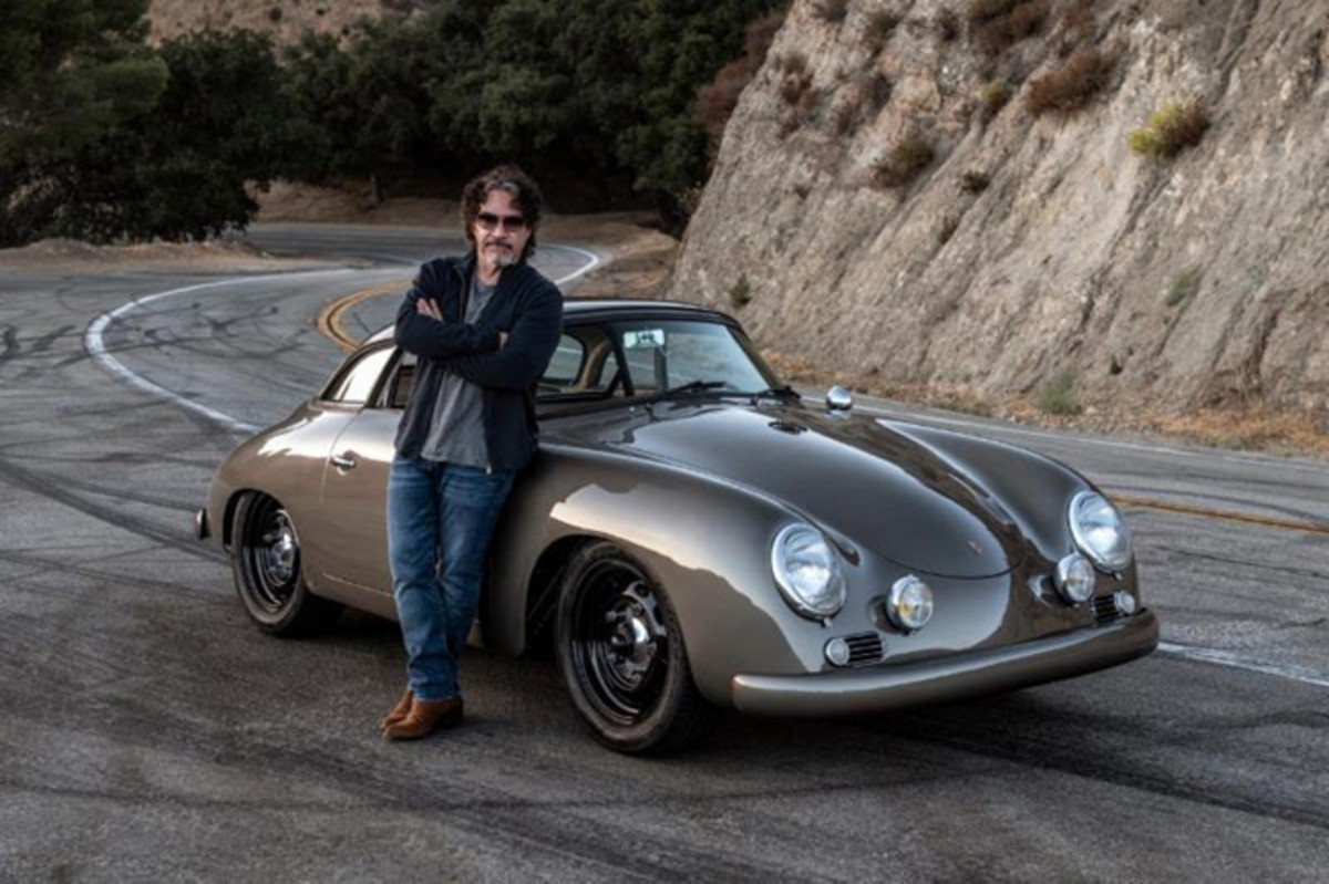 Oates and his 1960 Porsche 356 Emory Special Cabriolet. Photo courtesy of Emory Motorsports.