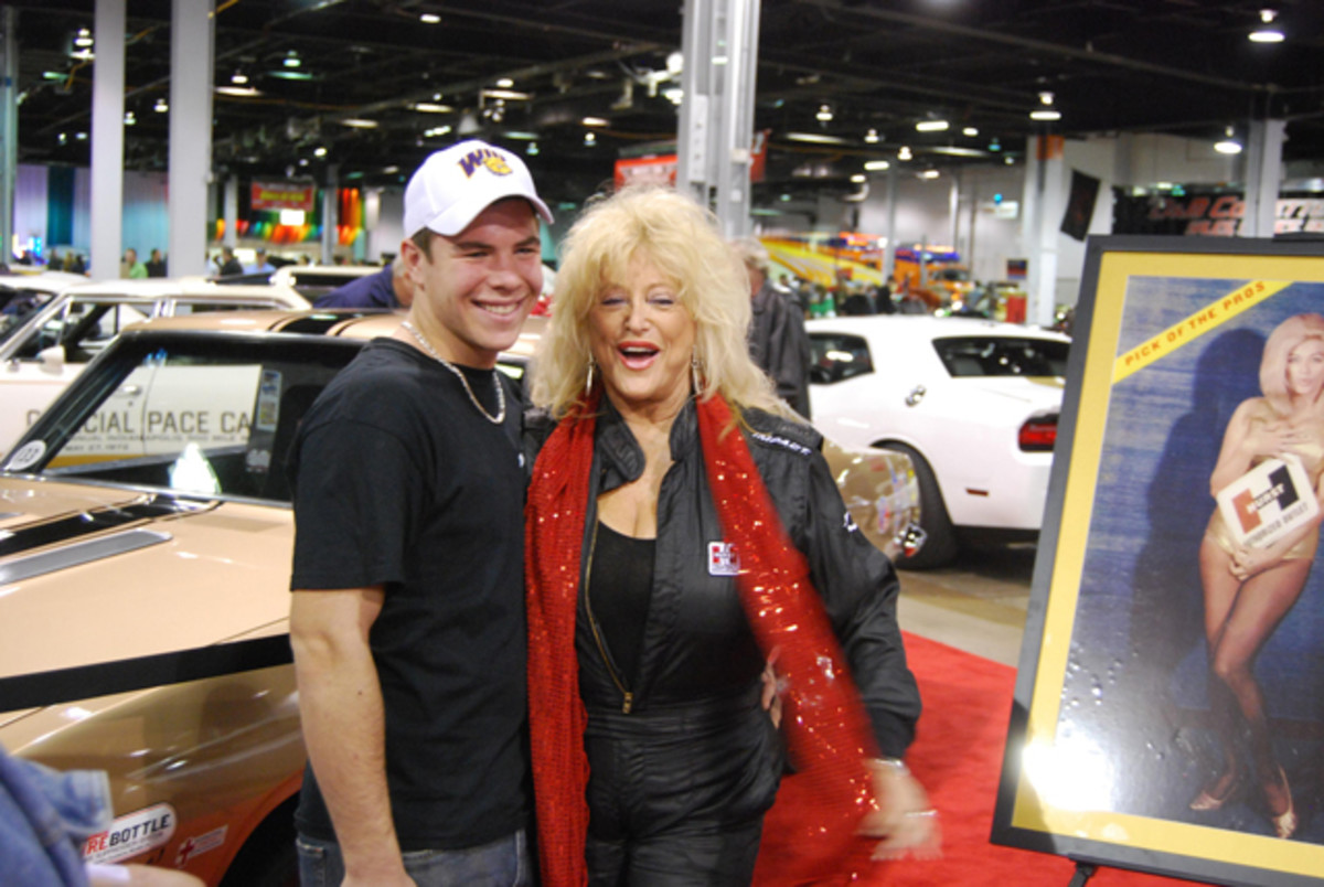 "Linda Vaughn — known as ""The First Lady of Motorsports""— has been a big supporter of the Chicago show."