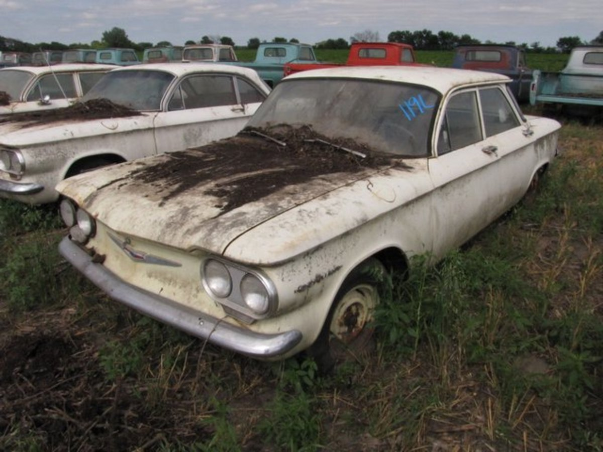 This 1.7-mile Corvair is still on MSO — and the purchaser will still get to be the first owner.