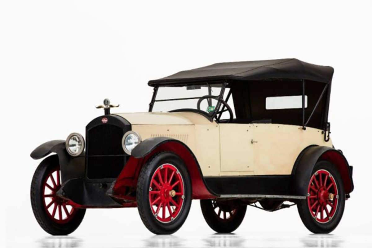 A 1920 Anderson Six convertible roadster will displayin theHistoric Vehicle Associate (HVA) exhibit in the AACA Museum Lobby. Photo Credit: Casey Maxon - Historic Vehicle Association