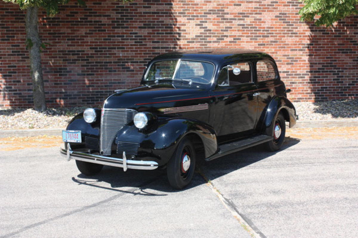 "Cars powered by Chevrolet's fabled ""Stovebolt Six,"" such as this 1939 Chevrolet two-door sedan, will be part of the VCCA Early Six-Cylinder Tour to New York."