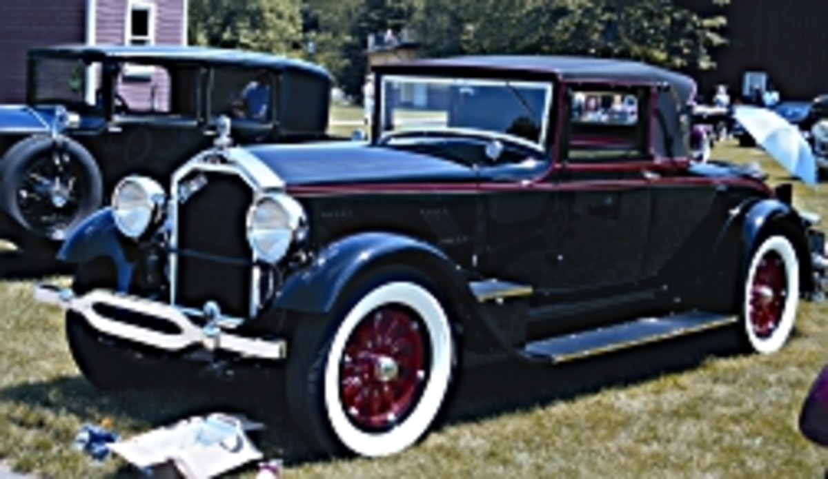 1927 Stearns-Knight cabriolet
