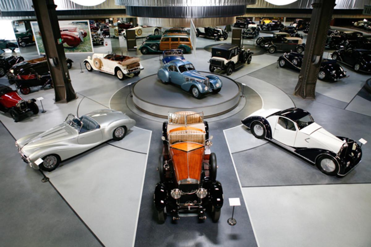 Grand Salon inside the Mullin Automotive Museum.