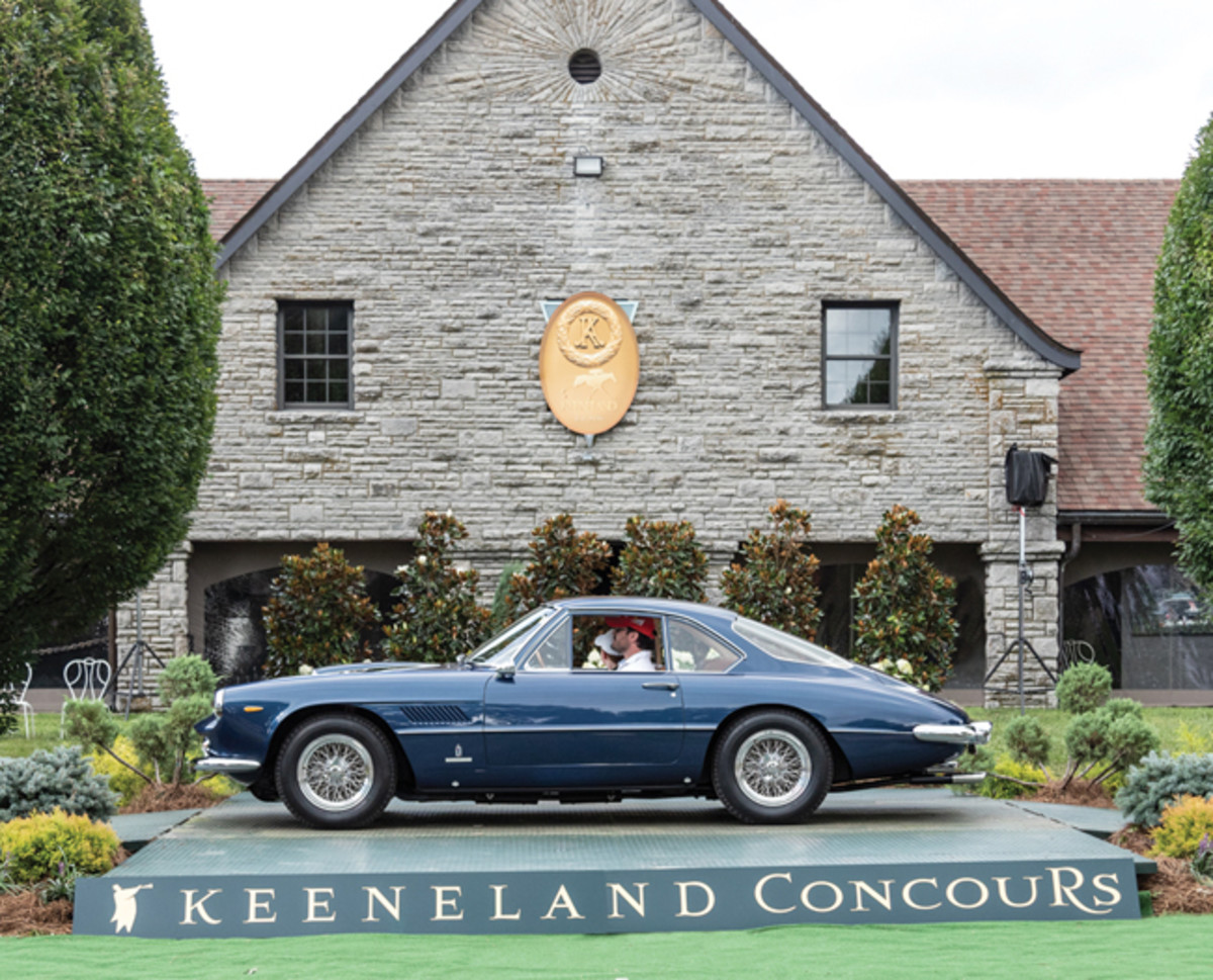1961 Ferrari 400 Superamerica SWB -People's Choice Award