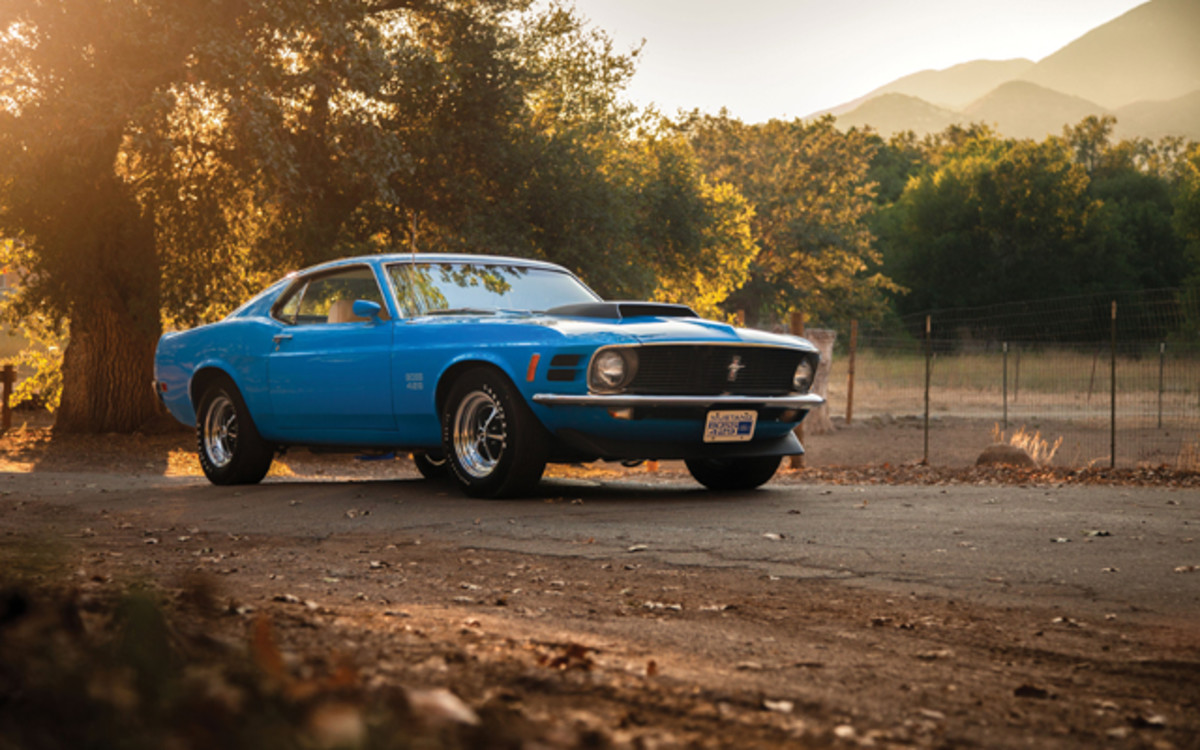 1970 Ford Mustang Boss 429. (Courtesy Auctions America)