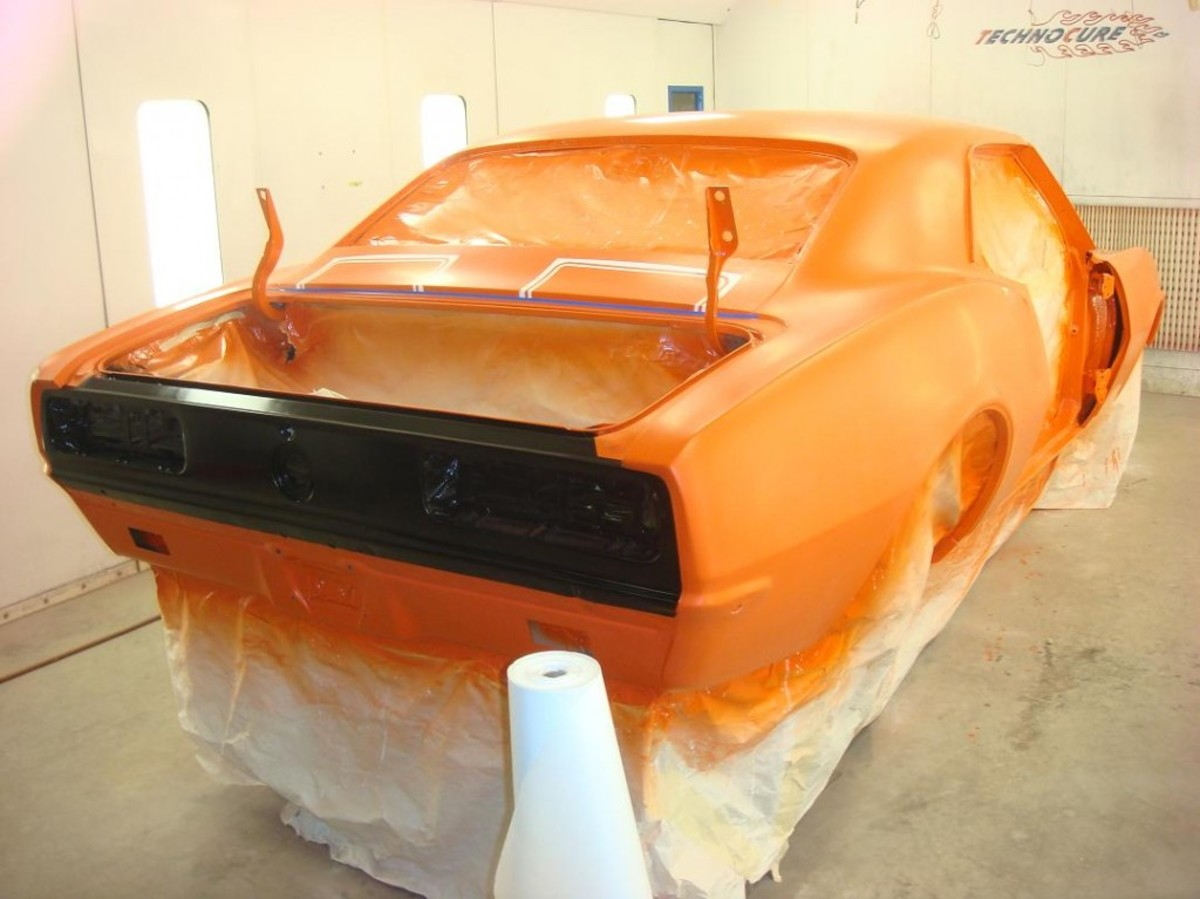 If you have a car painted in a commercial shop, two-stage paint may be the only option you have.