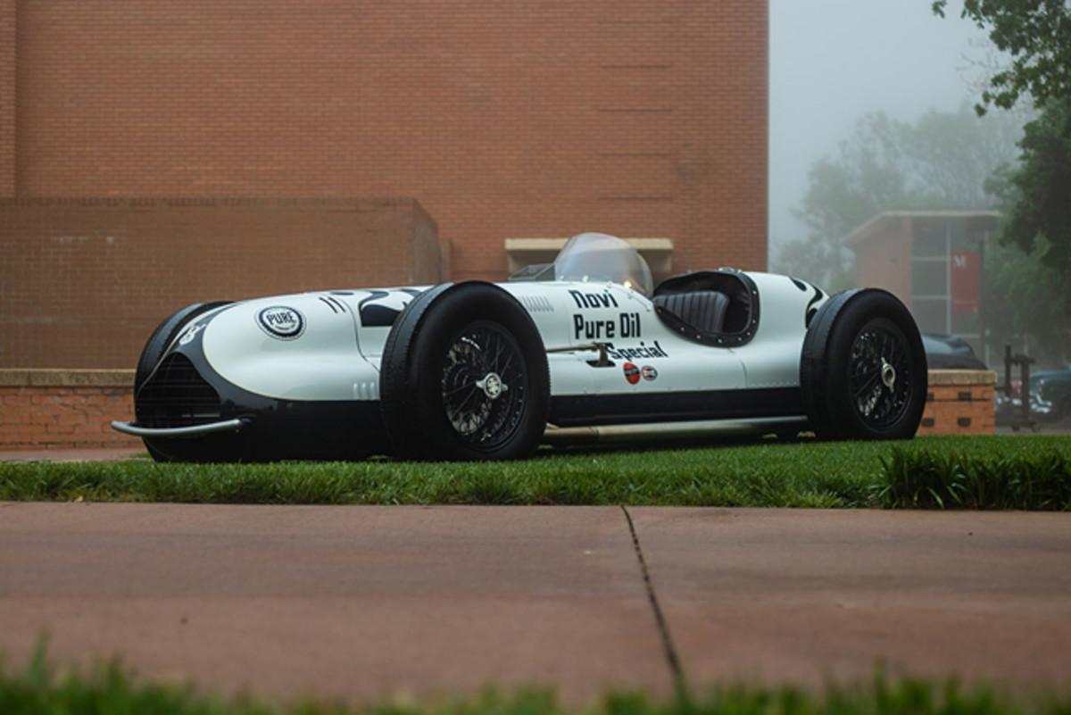 1946 Kurtis Novi Indy race car. - Photo - Jake Pullan
