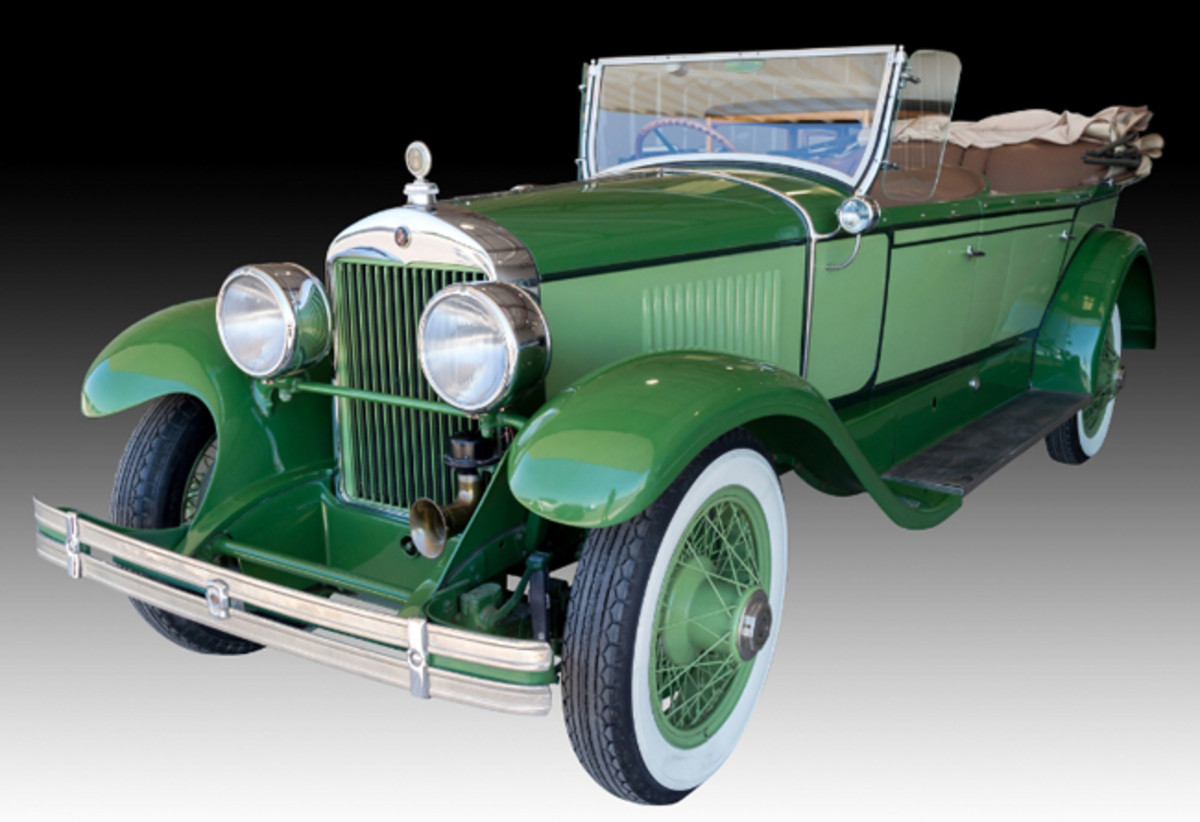 This Prewar 1927 Cadillac Touring Car from the Fred Goulden Museum collection is one of many rare cars that will hit the auction block starting Sept. 29 at J. Levine Auction & Appraisal in Scottsdale, Arizona. The three-day September auction also includes thousands of vintage toys, fine art and other collectibles from multiple estates. www.jlevines.com (PRNewsFoto/J. Levine Auction & Appraisal)