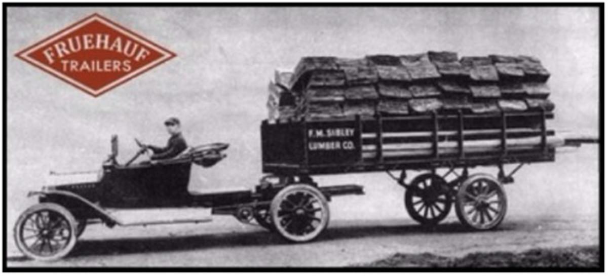 Fruehauf trailer oldtime
