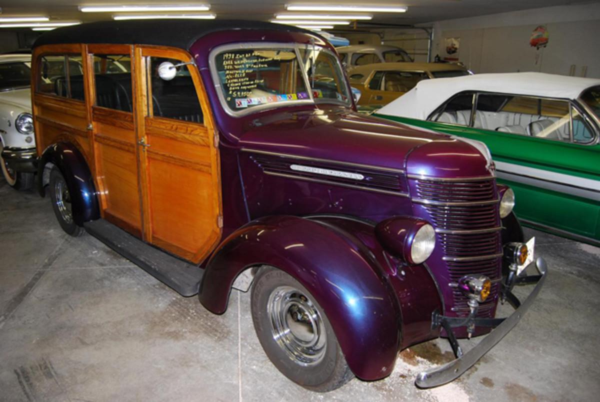 Rare 1938 IH Westchester Suburban.
