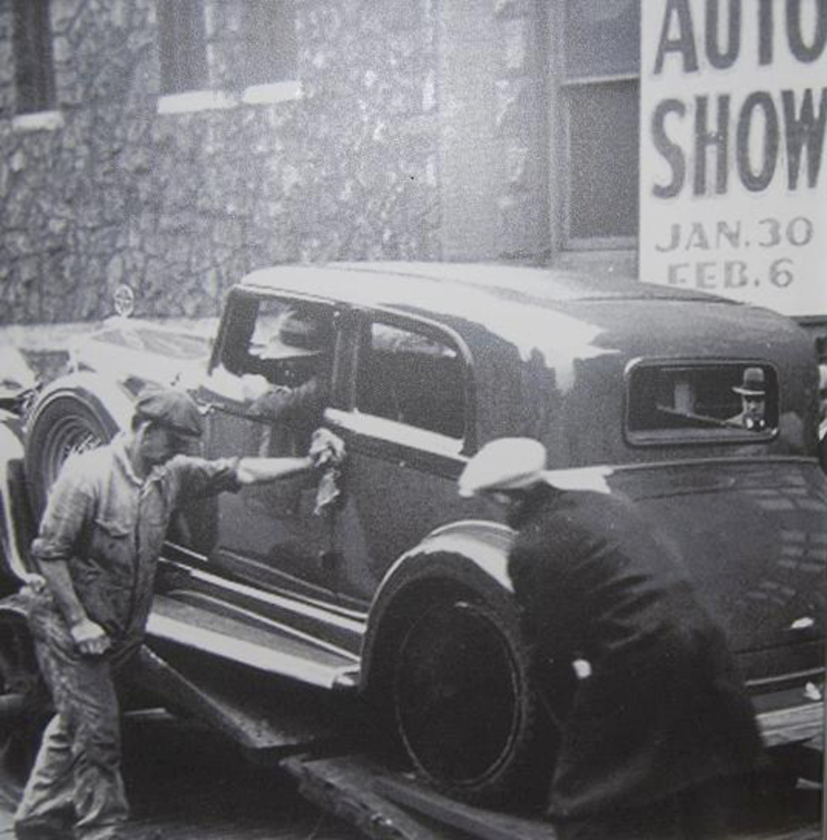 One feature of the 107th Chicago Auto Show was a glimpse at its past.