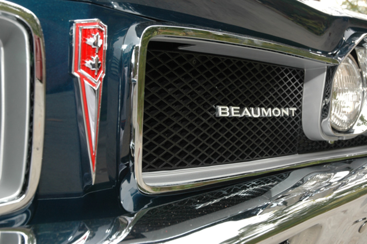 """Beaumont performance models used special call-outs on the side stripes to denote the SD-396 package. The 325-horse 396-cid V-8 was the largest engine available. """"SD"""" stood for Sport Deluxe, as opposed to Super Duty."""