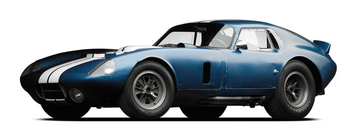 Shelby Cobra Daytona Coupe CSX2287 is the first automobile to be documented by the U.S. Secretary of the Interior. (Michael Furman Photography)