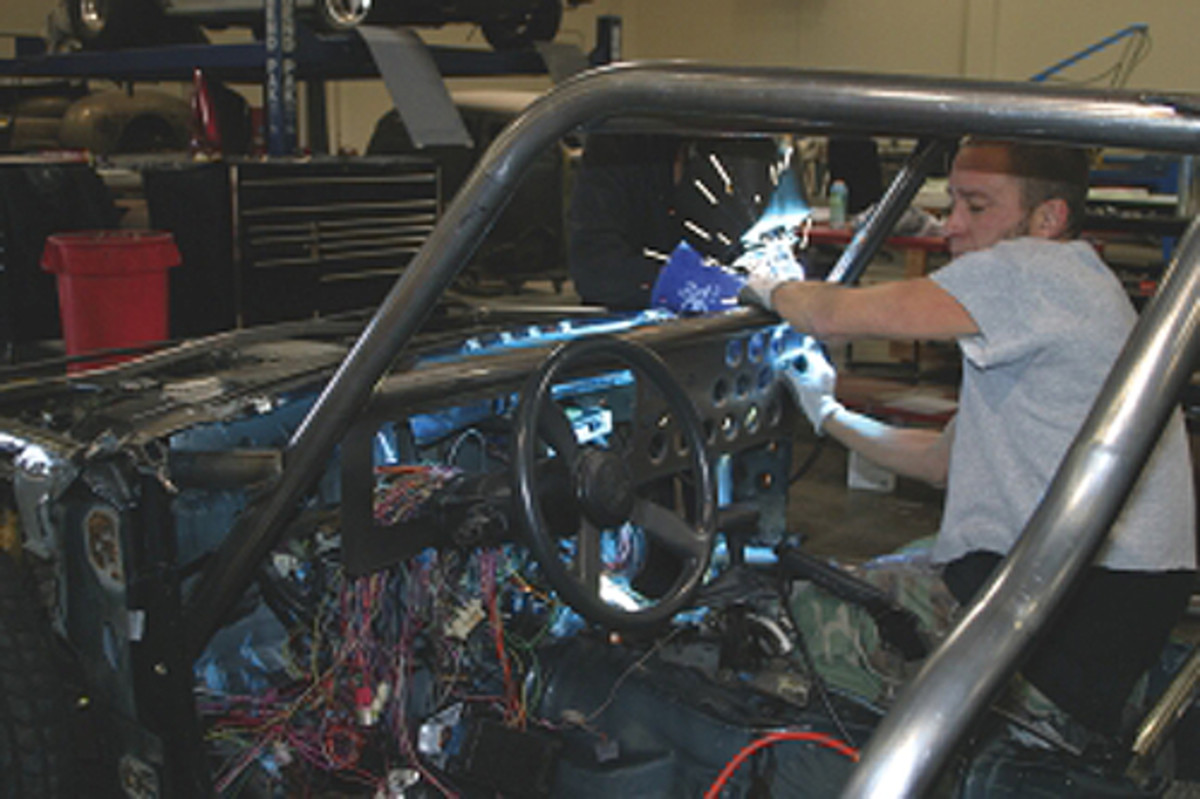 If you can become a proficient welder, you might be able to pick up some extra money installing roll cages on racecars. Knowing how to weld tubing is a real asset, as well as good practice for other kinds of welding.