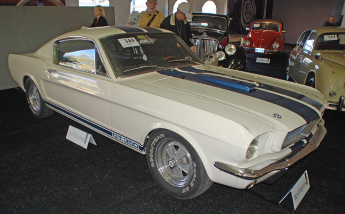 There is a lot of speculation of just what this 23,000 original mile 1965 Shelby GT350 will bring at Bonhams.