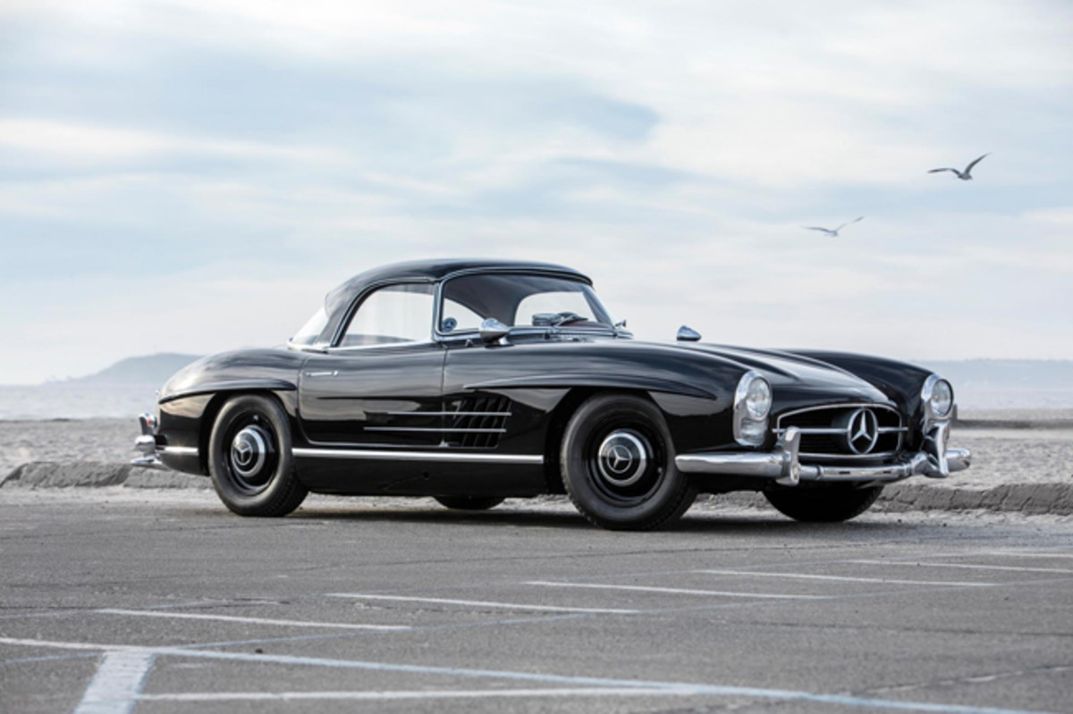 1959 Mercedes-Benz 300SL Roadster. Photo - Worldwide Auctioneers