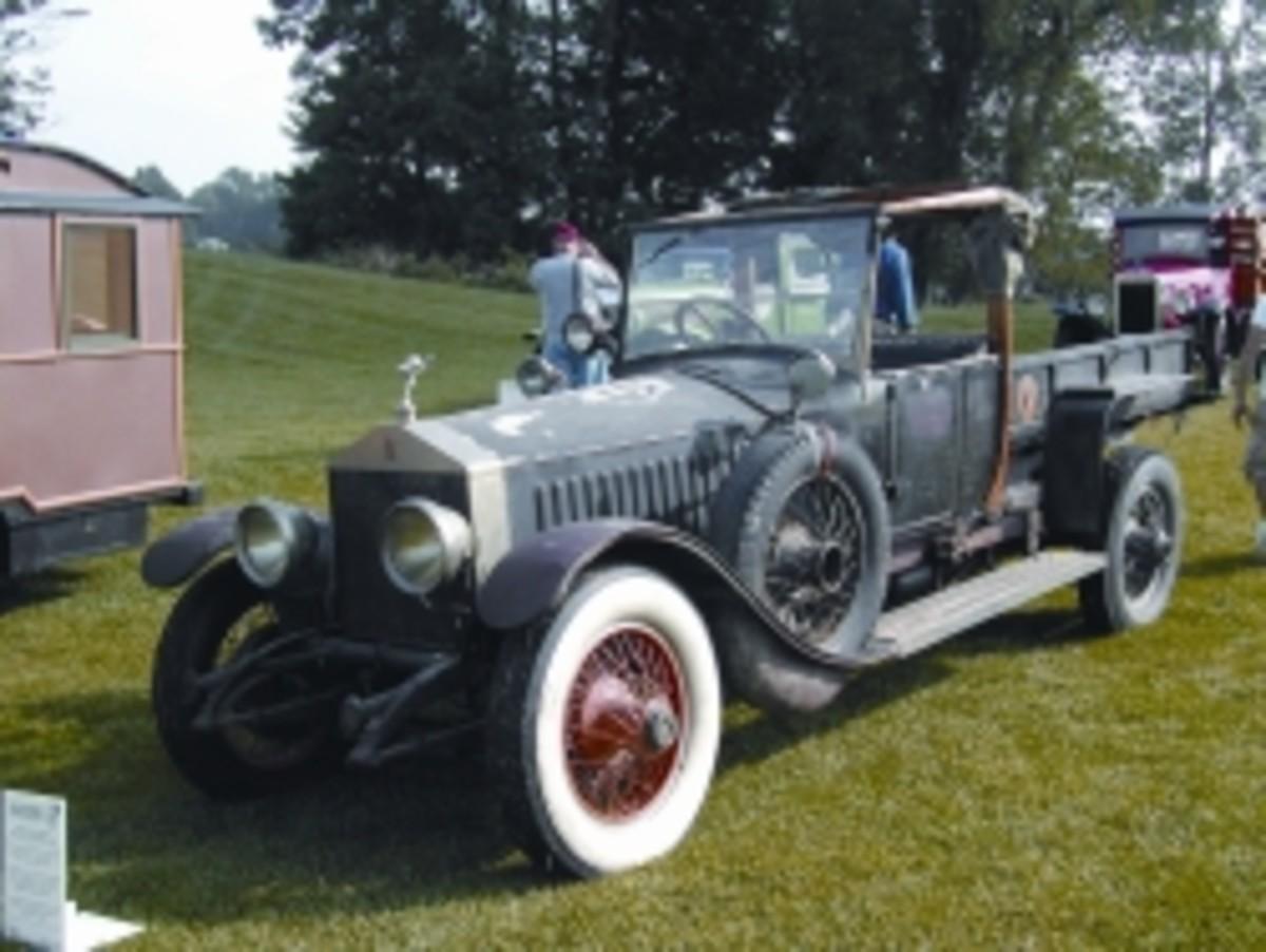Truck-bodied 1919 Rolls-Royce