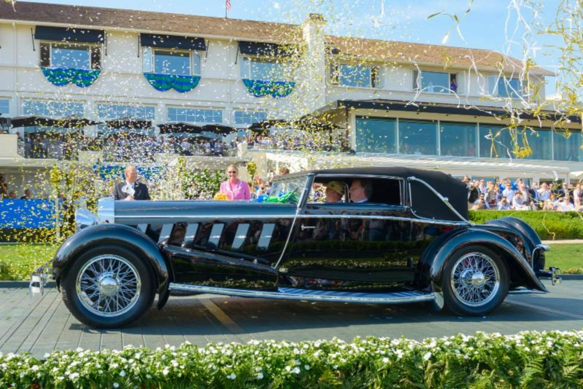 Isotta Fraschini Named Best of Show at 65th Pebble Beach Concours d'Elegance