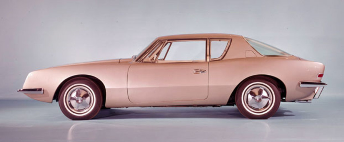 The production Avanti introduced for the 1963 model year was spot-on to the design Loewy's team conjured up for the car that was intended to save Studebaker car production.