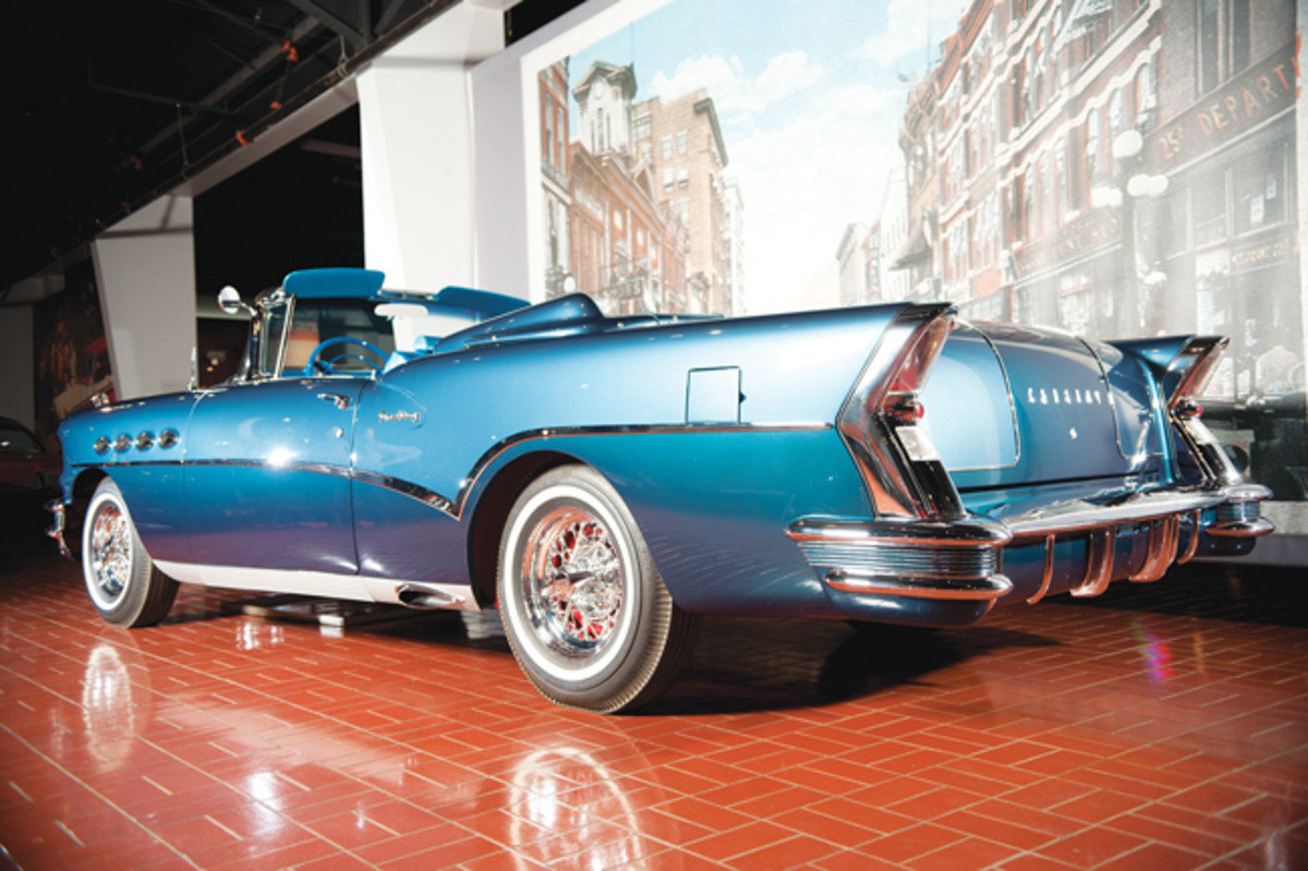 Mitchell ordered 225 custom features to this car, which began as a production 1956 Century.