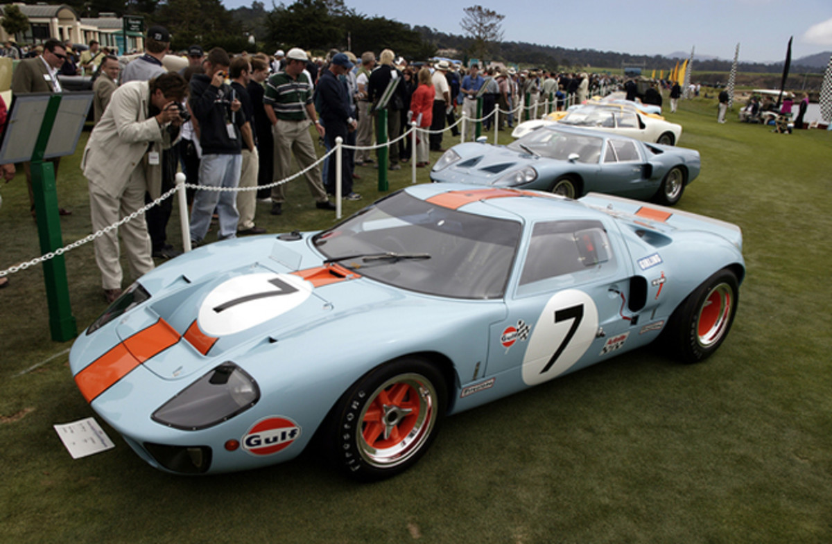 GT40 Pebble Beach