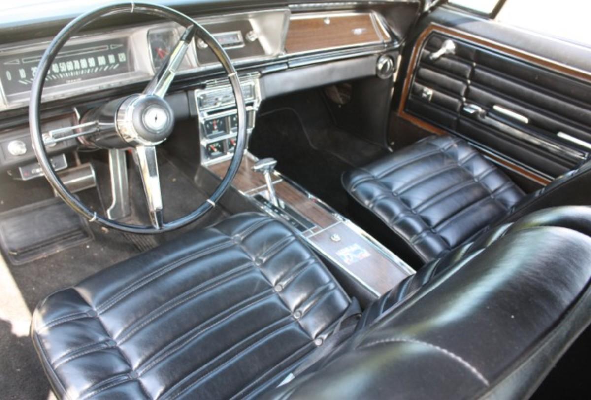 1966 Caprice-interior