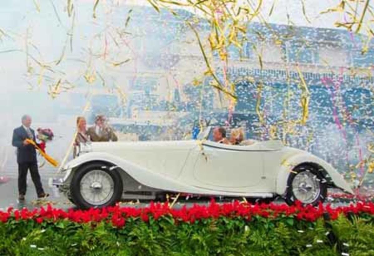 1933 Delage D8S De Villars Roadster Pebble Beach