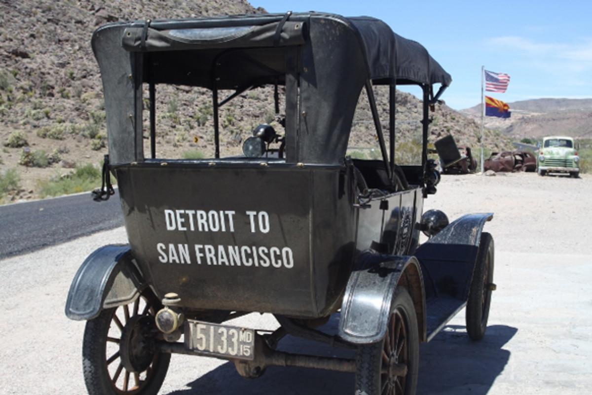 Detroit to San Fran