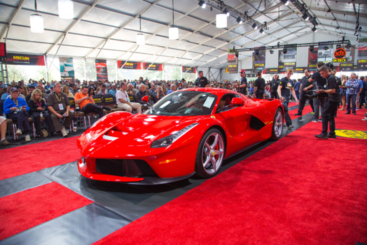 2014 hybrid-drive Ferrari LaFerrari - Image Mecum