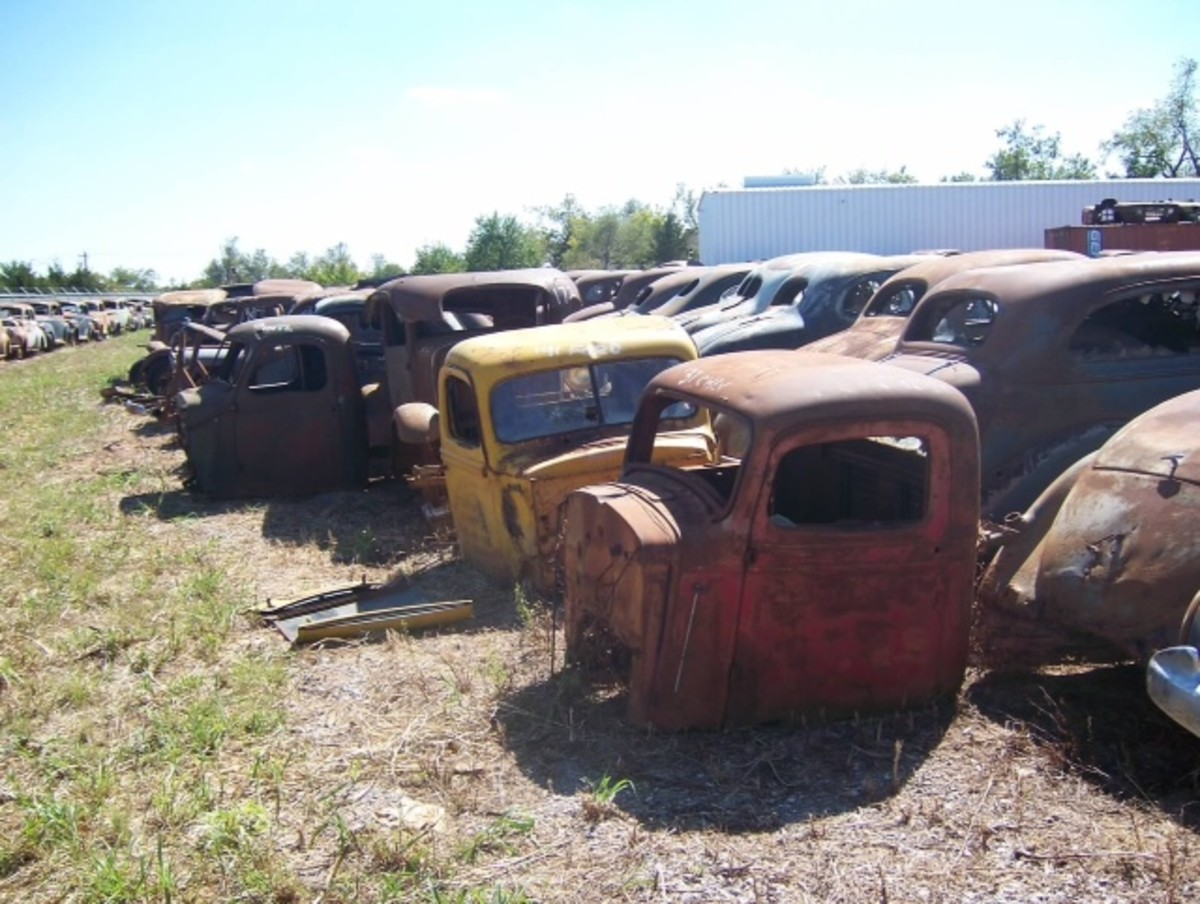 There are many truck cabs in the collection.
