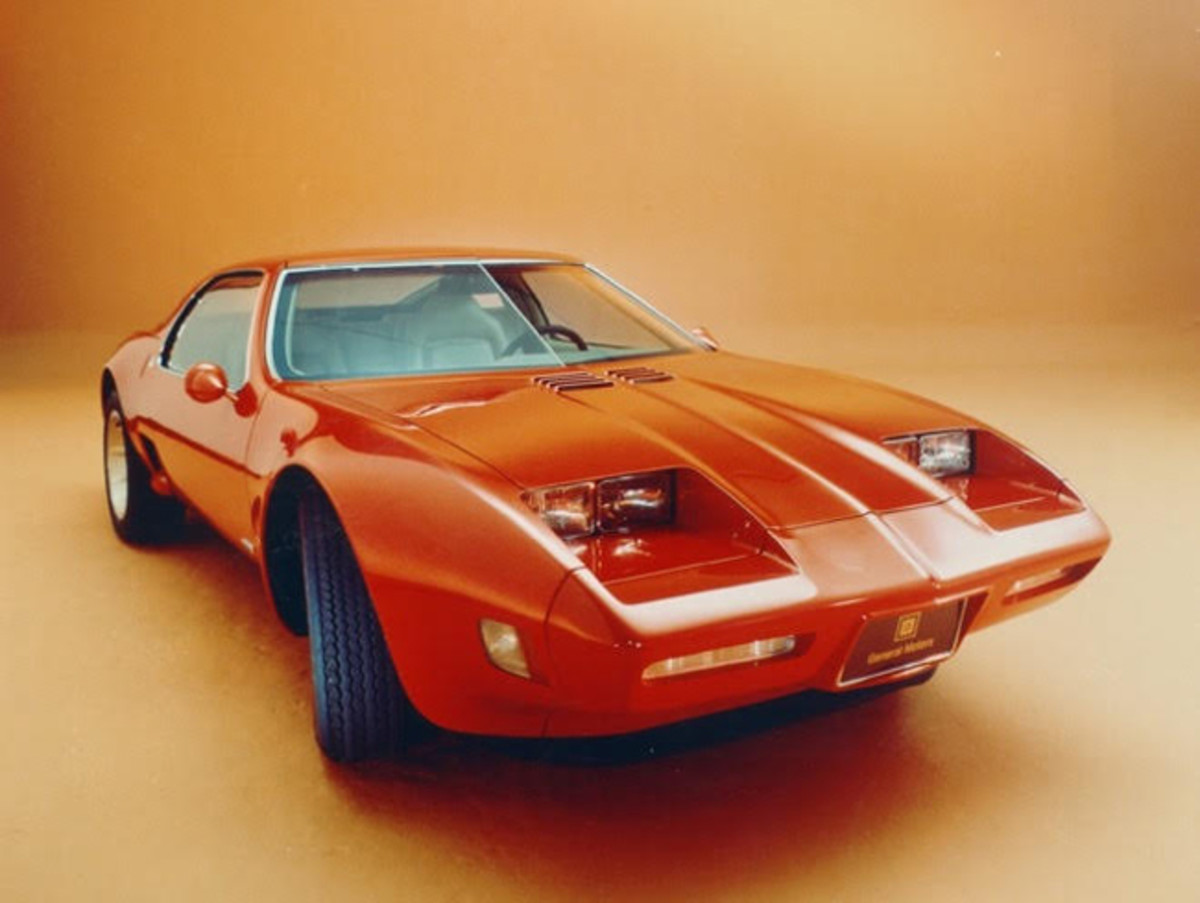 1973 Chevrolet Corvette XP-897 GT. Photo courtesy of GM.