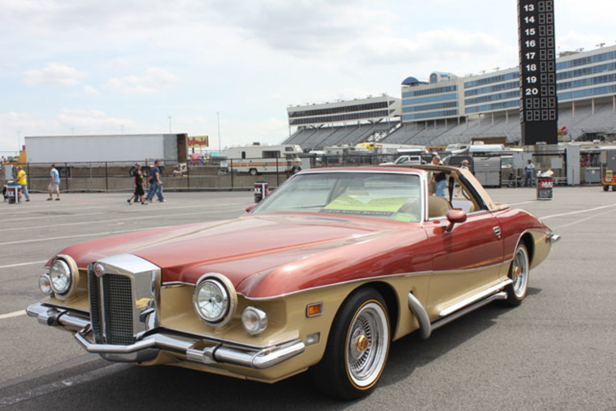 The Hornets Nest Region, AACA, will host the Charlotte AutoFair on the grounds of the world famous Charlotte Motor Speedway April 9-12. There's always an amazing selection of cars to view, such as this 1979 Stutz Bearcat.