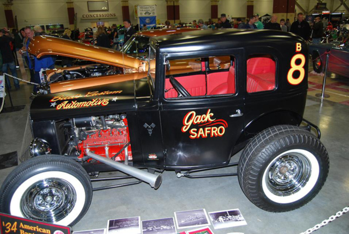 The 8 Ball was a hit at the Milwaukee World of Wheels.