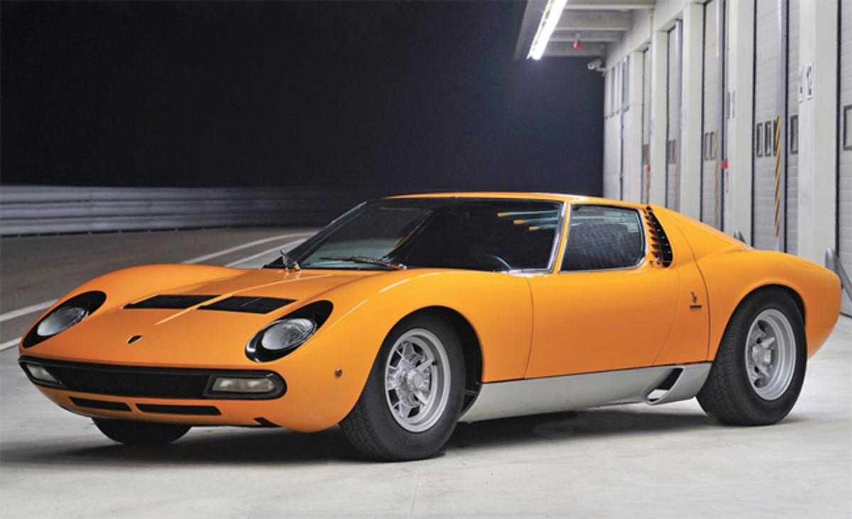 1972 Lamborghini Miura P400 SV