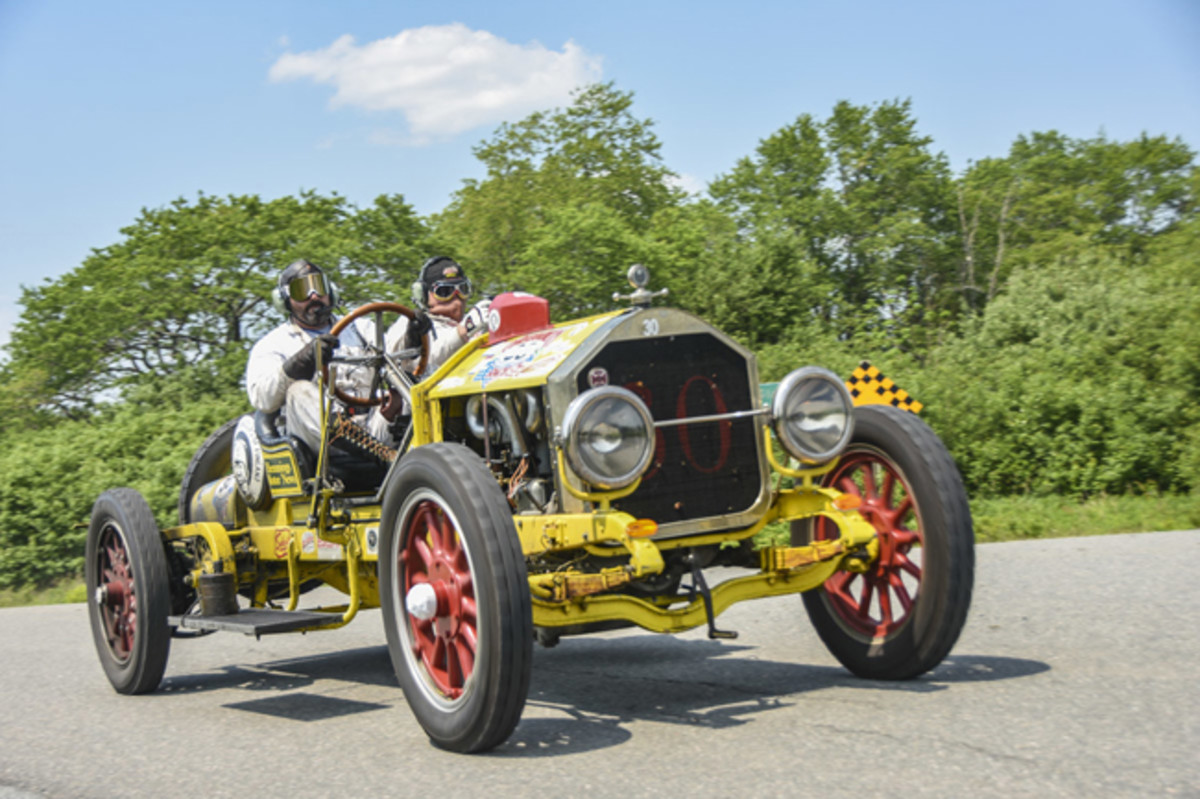 "Vintage cars in ""The Great Race"" will finish their precision, timed, 2,300-mile journey in Tacoma, Washington on June 30. Car shows, food trucks, tours and other festivities will welcome visitors and the 120 race participants at the final finish line at America's Car Museum in Tacoma."