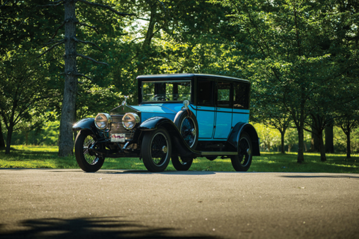 1921 Rolls-Royce Silver Ghost Saloon. (Courtesy Auctons America)