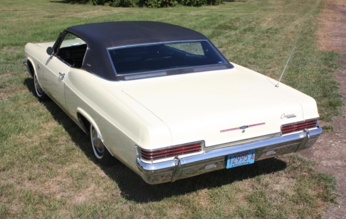 1966 Caprice-rear
