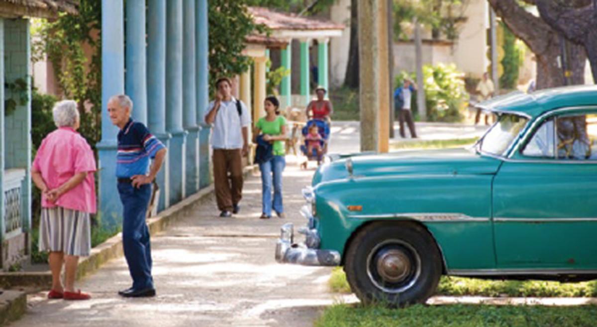 Cuba int he street