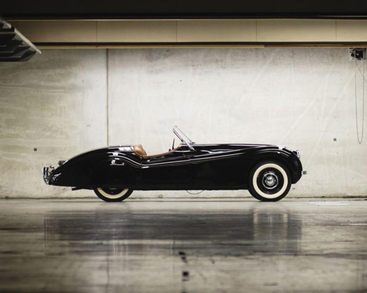 Clark Gable's Jaguar XK120