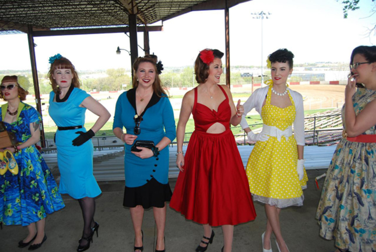 And the Pin-up Girl Contest was fun, too.
