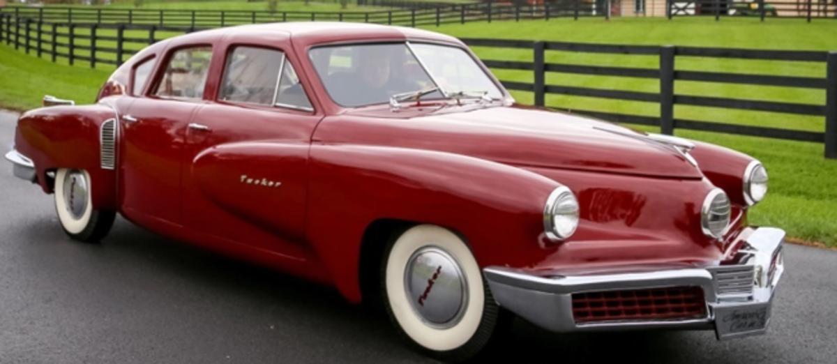 """1947 Tucker Prototype Sedan """"Tin Goose"""""""