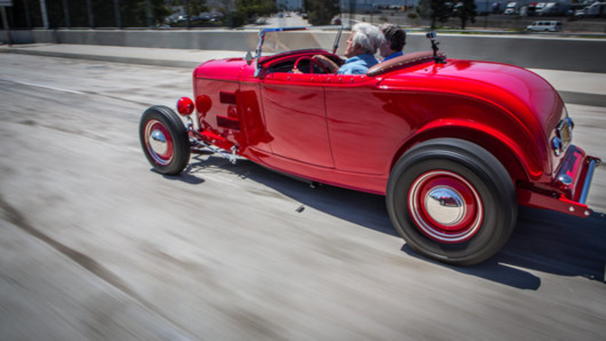 Jay Leno to cover Monterey auction and show week in new program on CNBC.