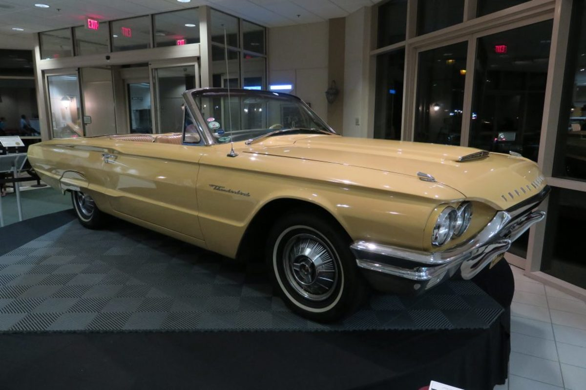 The 1964 Ford Thunderbird used in the Magic Skyway exhibit at the 1964-'65 World's Fair. (Mark Usciak photo)