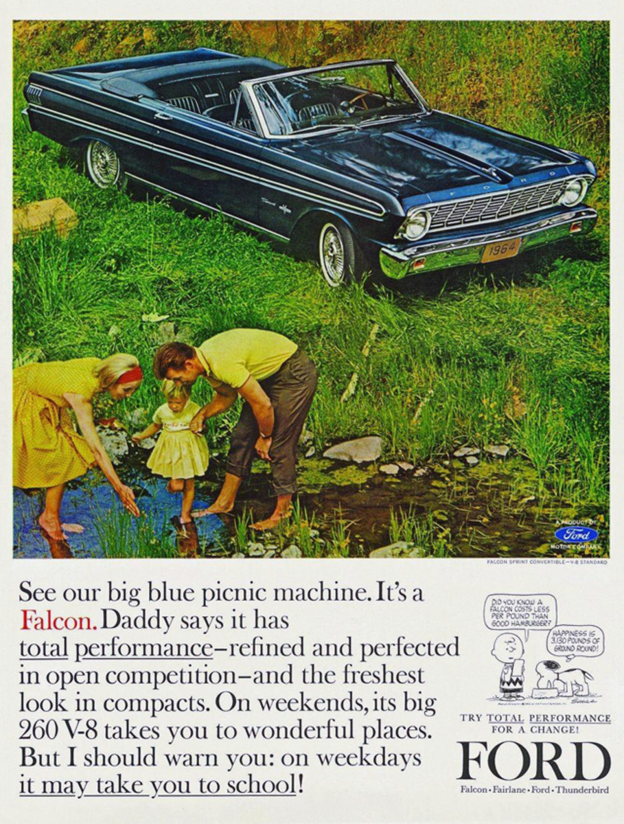 Who wouldn't be happy to wake up on Dec. 25 and receive the keys to a 1964 Ford Falcon — with V-8 power and a drop top?